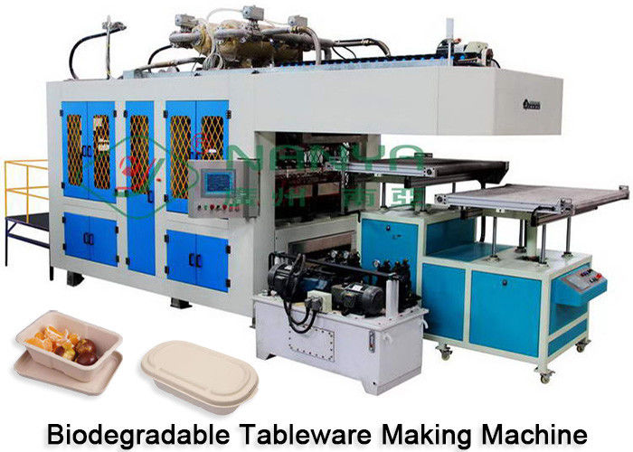 Paper Plate Tableware Making Machine Dry And Cut In Mold CE Certificate