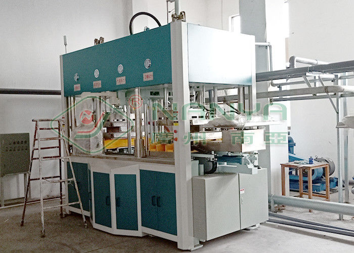 Biodegradable Wet Pressing Molded Pulp Machine For Wine Insert Inner Package