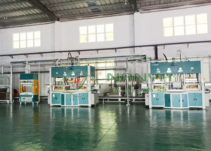 250kw Thermoforming Molded Pulp Machine For Finery Inner Package