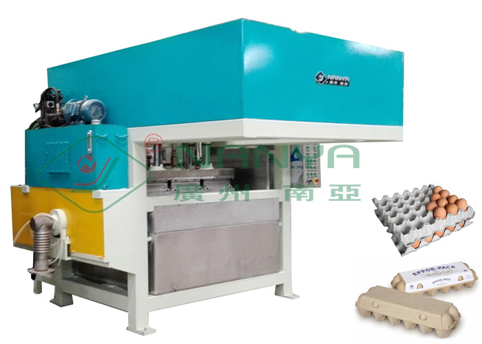 1400Pcs / H Egg Carton Machine